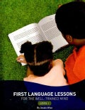 First Language Lessons for the Well-Trained Mind: Level 1 (Paperback)