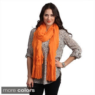 Cashmere Showroom Women's 'Wind in Your Hair' Scarf
