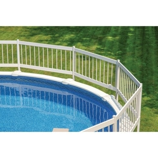 GLI Above Ground Pool Fence Kit (8 Section) - White