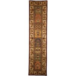 Safavieh Handmade Classic Bakhtieri Multicolored Wool Rug (2'3 x 20')