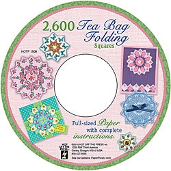 Tea Bag Folding Squares 2600-image CD