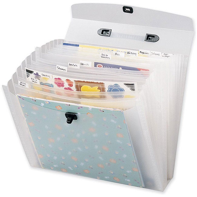 Memory File Expandable Storage Case