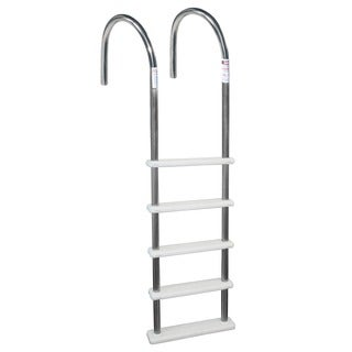Blue Wave Standard Stainless Steel In-Pool Ladder for Above Ground Pools