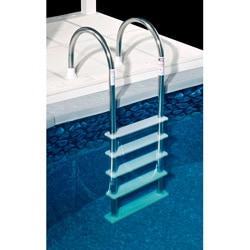 Swim Time Standard Stainless Steel In-Pool Ladder for Above Ground Pools