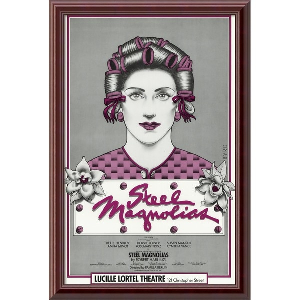 'Steel Magnolias' Framed Art Print