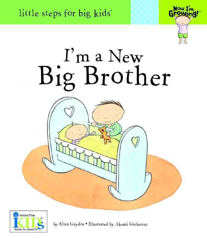 I'm a New Big Brother (Hardcover)