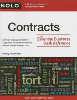 Contracts: The Essential Business Desk Reference (Paperback)