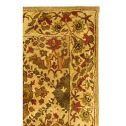 Safavieh Handmade Tabriz Beige/ Olive Wool Rug (3' x 5')