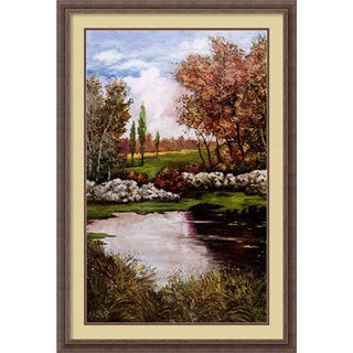 Luigi Ullio 'Shadowlands II' Framed Art Print