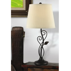 Kenroy Cirrus Bronze Table Lamp