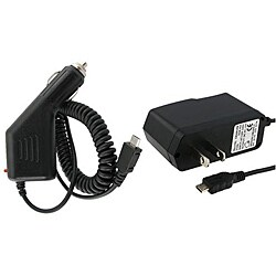 INSTEN Micro USB Car and Travel Charger