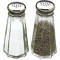 Tablecraft 3-oz Salt and Pepper Shakers (Pack of 12)