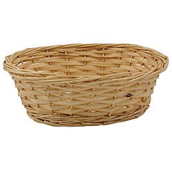 Willow Specialties 9-in Oval Rattan Basket