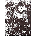 Hand-tufted Brown Cloud Wool Rug (5' x 8')