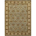 Hand-Knotted Traditional Mandara Wool Rug (7'9 x 10'6)