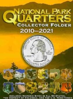 National Park Quarters Collector Folder 2010-2021 (Hardcover)