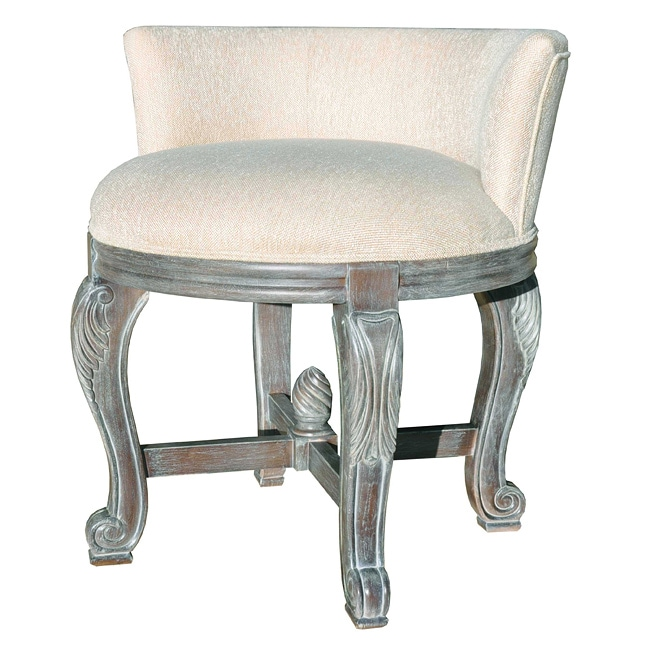 Perla Vanity Chair Overstock Shopping Great Deals On