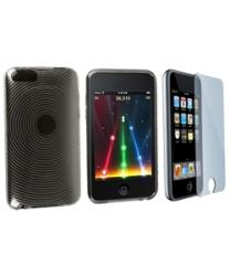 TPU Rubber Case/ Screen Protector for iPod Touch