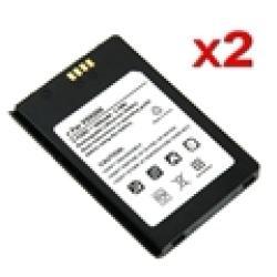eForCity 2-Pack Standard Li-Ion Battery For LG VX9200 enV3 - Slate Bl
