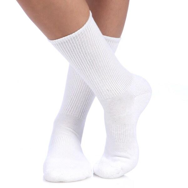 Smart Socks Coolmax Cushioned Walking Crew Socks (Pack of 3)