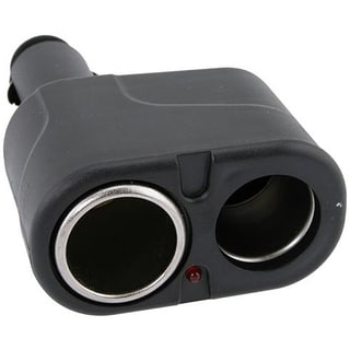 Two-way Car Cigarette Lighter Socket Splitter
