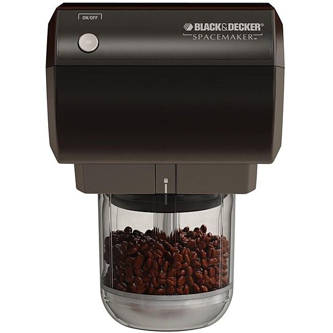 Black & Decker CG800 Black Spacemaker Mini Food Processor and Coffee Grinder