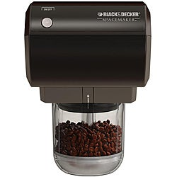 Black & Decker CG800 Black Spacemaker Mini Food Processor and Coffee Grinder