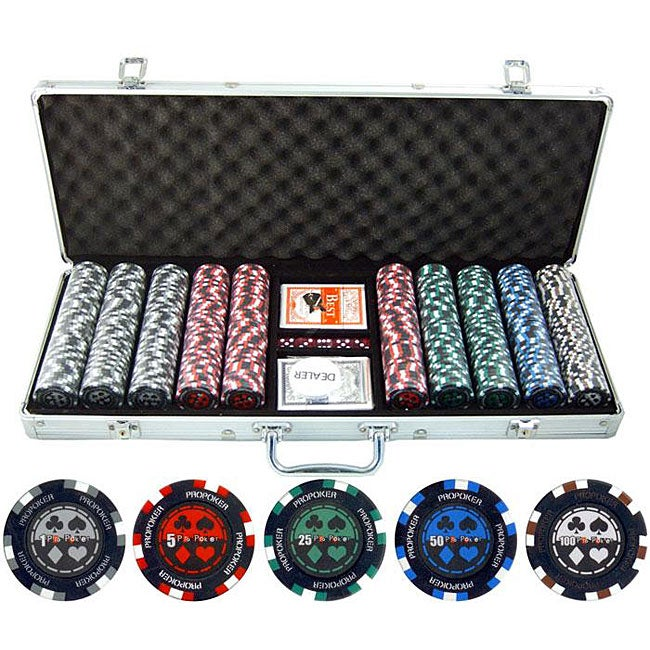 500 piece poker chips