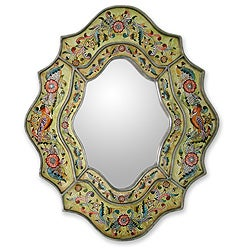 'Verdant Spring' Mirror (Peru)