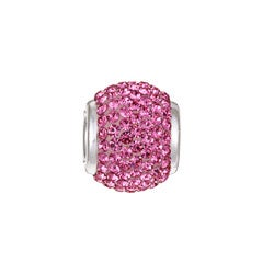 Sterling Essentials Crystal October Birthstone Bead