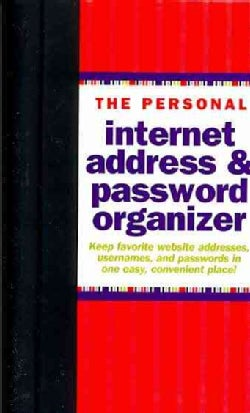 The Personal Internet Address & Password Logbook (Address book)