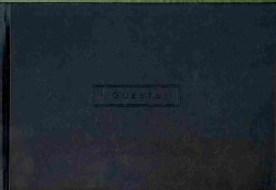 Classic Black Guest Book (Record book)