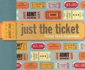 Just the Ticket: Ticket Stub Organizer (Organizer)