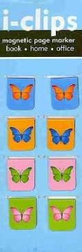 Butterflies I-clips Magnetic Bookmarks (Bookmark)