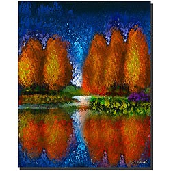 Miguel Paredes 'Lake Placid III' Canvas Art