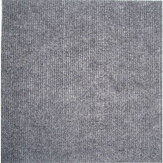 Self stick Grey Carpet Tiles 120 Square Feet Overstock