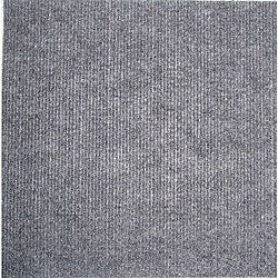 Self-stick Grey Carpet Tiles (120 Square Feet)