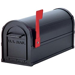 Salsbury Black 4800 Heavy-duty Rural Mailbox