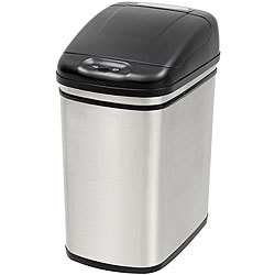Nine Stars 7.9-gallon Stainless Steel Motion Sensor Trashcan