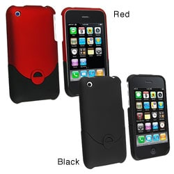 Snap-on Rubber Case for Apple iPhone 3G/ 3GS