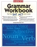 Barron's Grammar Workbook for the SAT, ACT and More (Paperback)