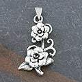 Sterling Silver Floral Pendant (Thailand)