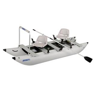 Sea Eagle FoldCat 375FC Classic Pro Angler Foldable Pontoon Boat