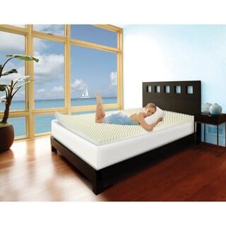 Slumber Solutions Highloft Cool 3-inch Memory Foam Mattress Topper