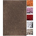 Handmade Recreo Cotton Shag Rug (2'6 x 4')