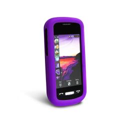 Purple Silicone Case for Samsung Solstice A887