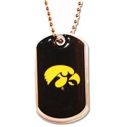 Iowa Hawkeyes Dog Tag Necklace