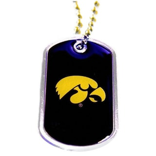 Iowa Hawkeyes Dog Tag Necklace