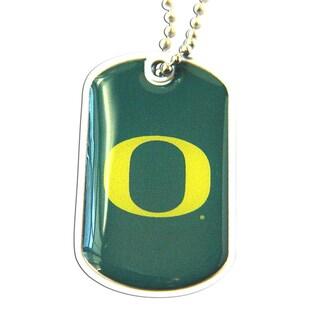 Oregon Ducks Dog Tag Necklace