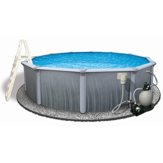Martinique 18-foot Round Above-ground Pool - Overstock™ Shopping ...: overstock.com/sports-toys/martinique-18-foot-round-above-ground...